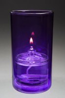 NEW YORK PURPLE CANDLE